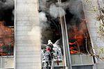 آتشسوزی در بیمه توسعه تعاون گرگان