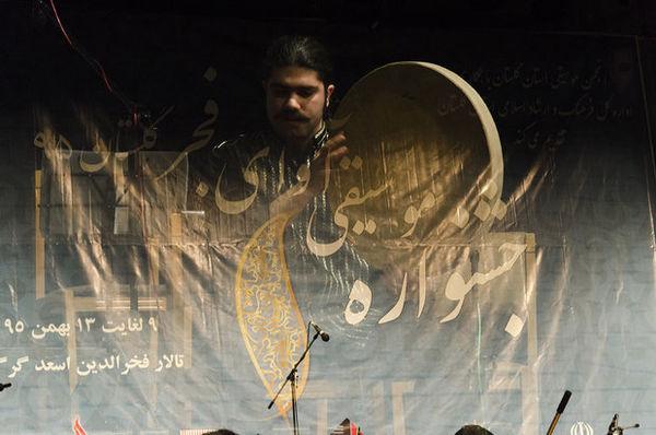 نُت آغازین جشنواره موسیقی آوای فجر گلستان نواخته شد