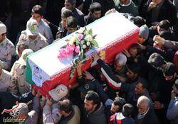 گزارش تصویری از مراسم تشییع پیکر شهید محسن پایمرد در کلاله
