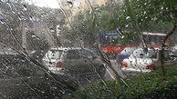 ادامه بارشها تا صبح فردا/ مینودشت در صدر میزان بارش