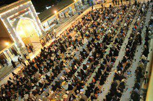 سفرههای آسمانی در 6 بقعه شاخص کردکوی برگزار میشود