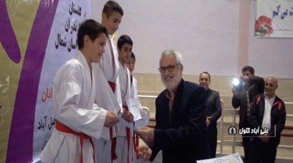 گلستان قهرمان المپیاد کاراته شمال کشور