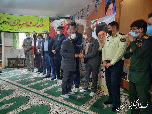 تجلیل از پیشکسوتان هشت سال دفاع مقدس شهرستان ترکمن