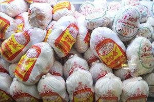 توزیع مرغ منجمد با نرخ دولتی در گلستان