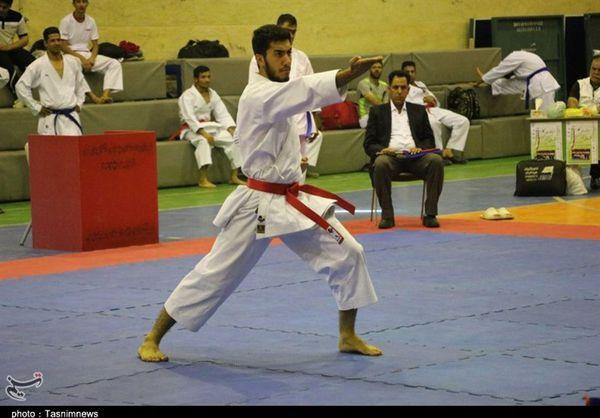 اردوی تیم ملی کاراته جوانان در استان گلستان برپا شد