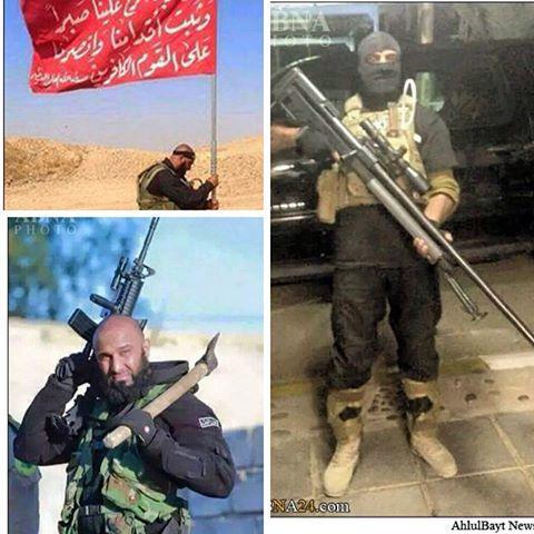 ابو عزرائیل کابوس جدید داعش (عکس)