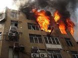 مهار آتش سوزی منزل مسکونی در گرگان