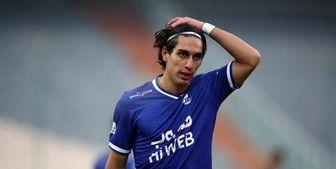 محمد نادری بازی با الشرطه عراق را هم از دست داد