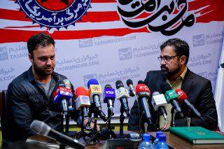 گزارش تصویری نشست خبری سومین جشنواره مرگ بر آمریکا