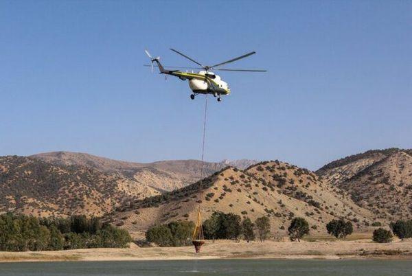 آتش سوزی جنگل های کردکوی استان گلستان اطفا شد