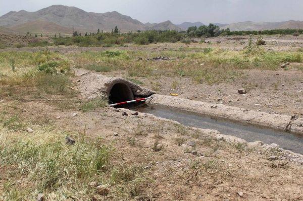 سه درصد آب بخش کشاورزی استان توسط قنوات تامین می شود