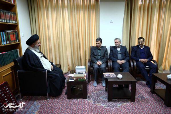 دیدار رییس بنیاد مستضعفان انقلاب اسلامی با نماینده ولی فقیه در گلستان+تصاویر