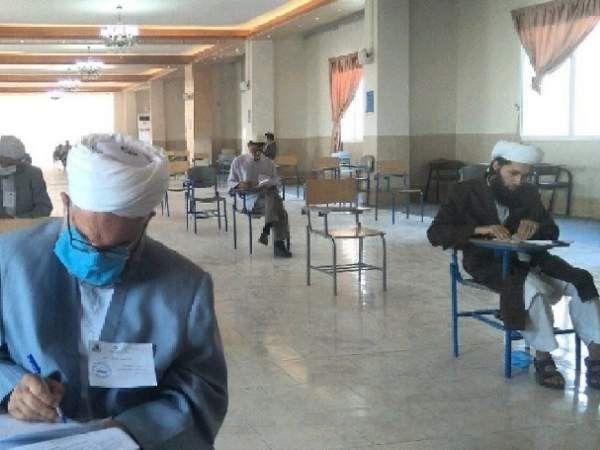 آزمون تعیین سطح علمای اهل سنت شرق گلستان برگزار شد
