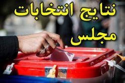 نتیجه قطعی در شش حوزه استان گلستان