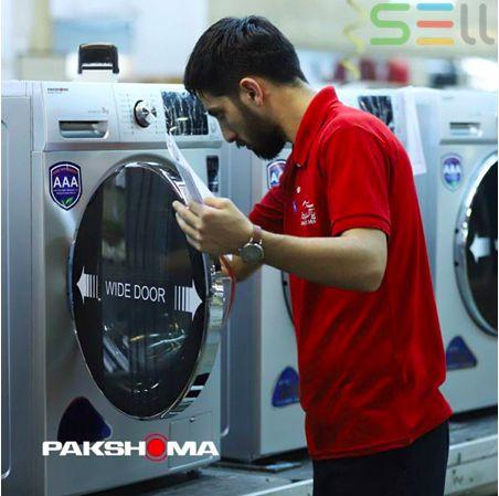 تایتل : خرید قسطی با کمترین قیمت ماشین لباسشویی پاکشوما در بازار
