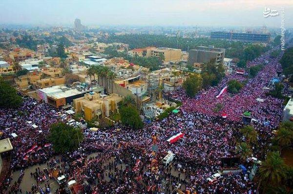 فیلم/ تلاش عجیب BBC برای کم اهمیت نشان دادن خروش میلیونی عراقیها