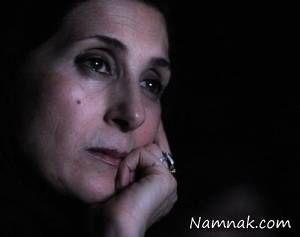 گریه های فاطمه معتمدآریا در مراسم عباس کیارستمی + عکس