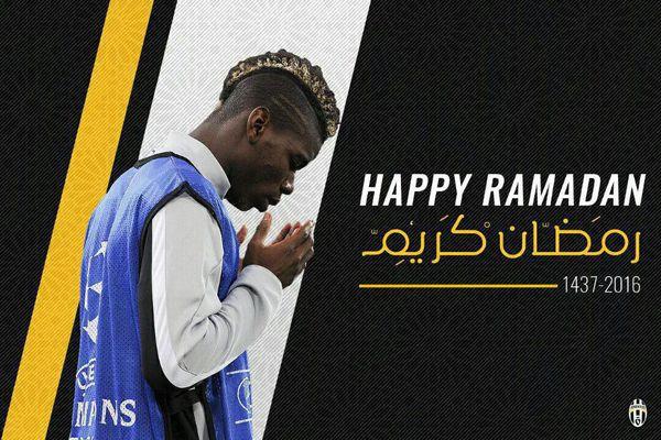 باشگاه یوونتوس فرارسیدن ماه مبارک رمضان را تبریک گفت