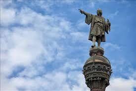 فیلم/ جمعآوری خودجوش مجسمه کریستف کلمب!