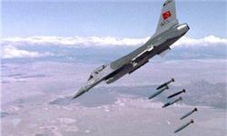 حملات هوایی ترکیه در شمال حلب 200 نفر را به کام مرگ کشاند