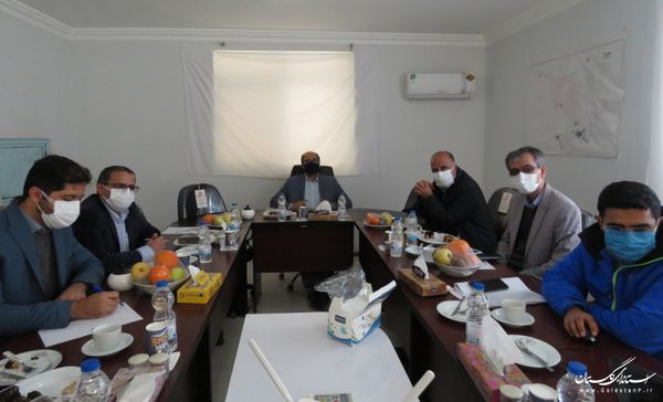بازدید مدیرعامل شرکت آب منطقهای گلستان از شبکه آبیاری و زهکشی قرهسو و زرینگل