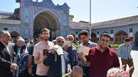 تصاویر/ حضور پرشور مردم گرگان پای صندوق های رای