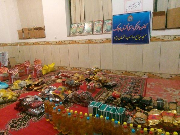 کمک های مومنانه بچه مسجدهای روستای ارجنک به دست نیازمندان رسید