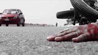 تصادف مرگبار برخورد سه موتورسیکلت در استان