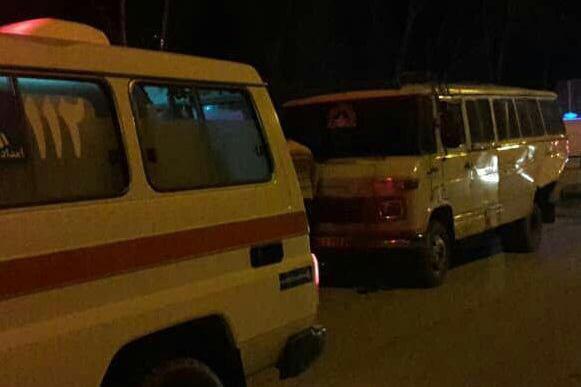 مصدوم شدن ۲۲ نفر بر اثر برخورد کامیون با مینی بوس در بندرگز