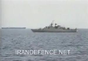 فیلم/ لحظه رویارویی ناوهای جنگی ایران و امریکا