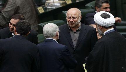 اولین حضور محمدباقر قالیباف در مجلس +عکس