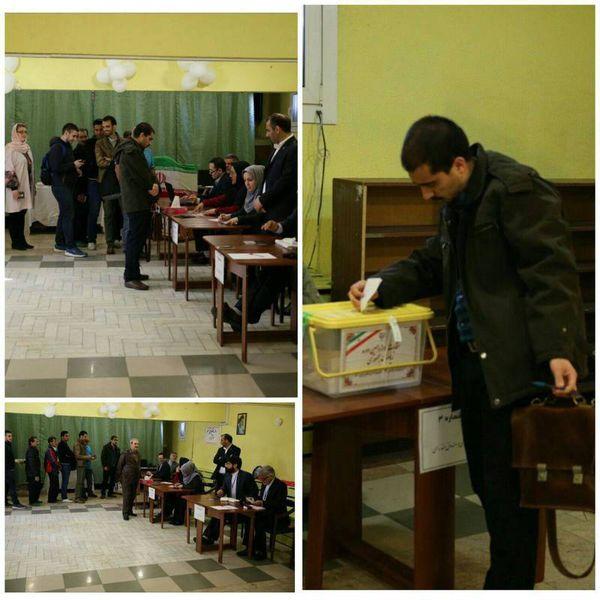 عکس/ اولین ساعت رایگیری ایرانیان در مسکو