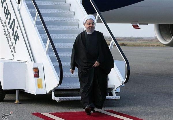 رئیس جمهور وارد فرودگاه اهواز شد