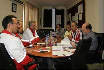 امضای تفاهم نامه معاونت بهداشت دانشگاه علوم پزشکی گلستان و مدیر عامل جمعیت هلال احمر گلستان