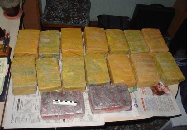حدود ۵ تن موادمخدر در استان گلستان کشف شد