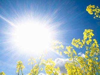 افزایش دما در استان
