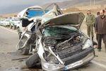 تصادف 8 خودرو و زخمی شدن 10 نفر درگلستان