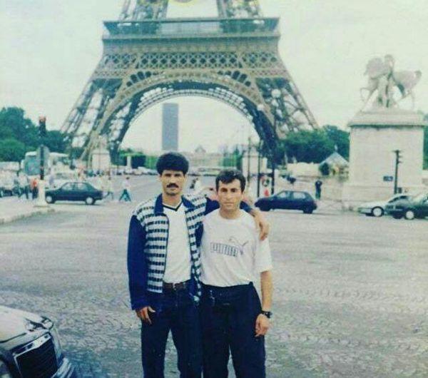 عکس دیده نشده از علی دایی در فرانسه