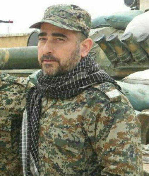حسینعلی پورابراهیمی از آستانه اشرفیه به جمع شهدای مدافع حرم پیوست+عکس