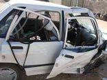 در تصادف شدید امروز در گرگان سه نفر مصدوم شدند