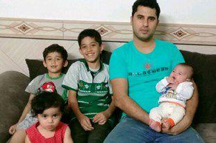 «4 فرزند» ثروت زندگی یک زوج جوان در گنبد