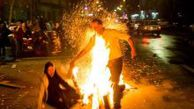 وحشتناک ترین مصدومان چهارشنبه سوری /18+