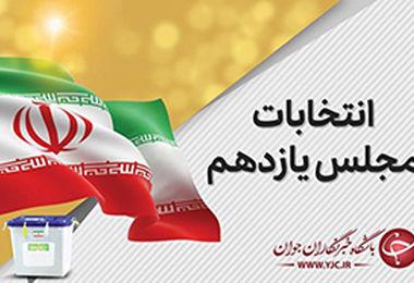 اعلام نتیجه انتخابات مجلس دوره یازدهم در استان گلستان