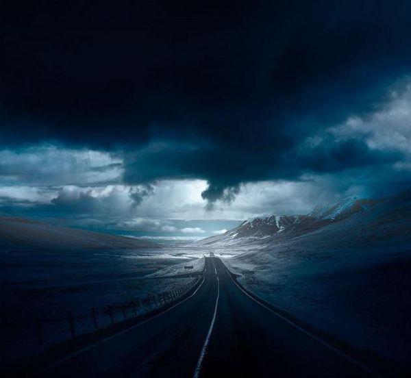 عکس / جاده زیبا در نروژ!