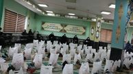 توزیع هزار قلم خشکبار وپوشاک به دانش آموزان نیازمند شهرستان گرگان