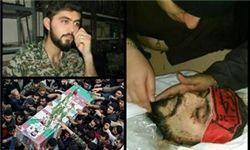تصاویری از مدافع حرم شهید حمید سیاهکالی مرادی