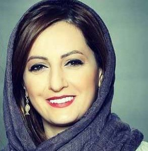 گریم عجیب و غریب بازیگر زن مشهور ایرانی