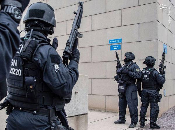 فیلم/ درگیری پلیس آلمان با معترضان به قرنطینه