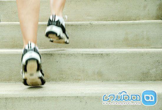 بالا رفتن از پله را به ورزش تبدیل کنید!