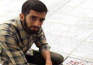 فیلم /مداحی شهید حججی در طلائیه